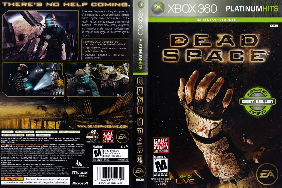dead space jogo de terror para xbox 360 retro games rh retrogame com br Dead Space in a Nut Shell Dead Space Screenshots